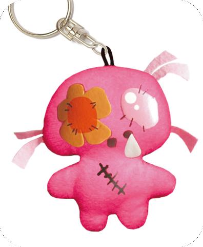 SNOTTY SARA key chain