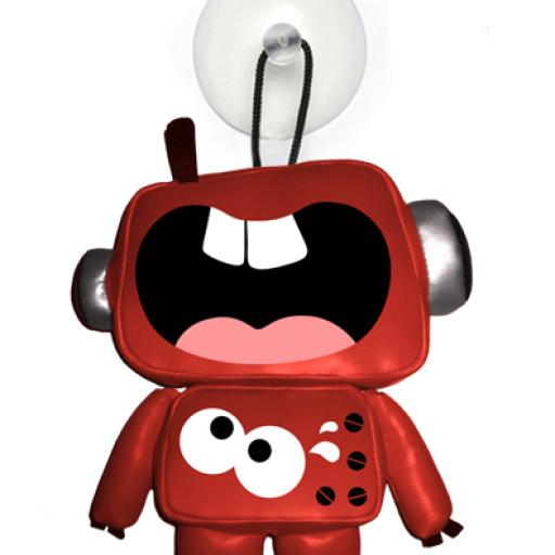 SCREAMBOT Suction cup