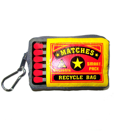 Matches Recycled Bag