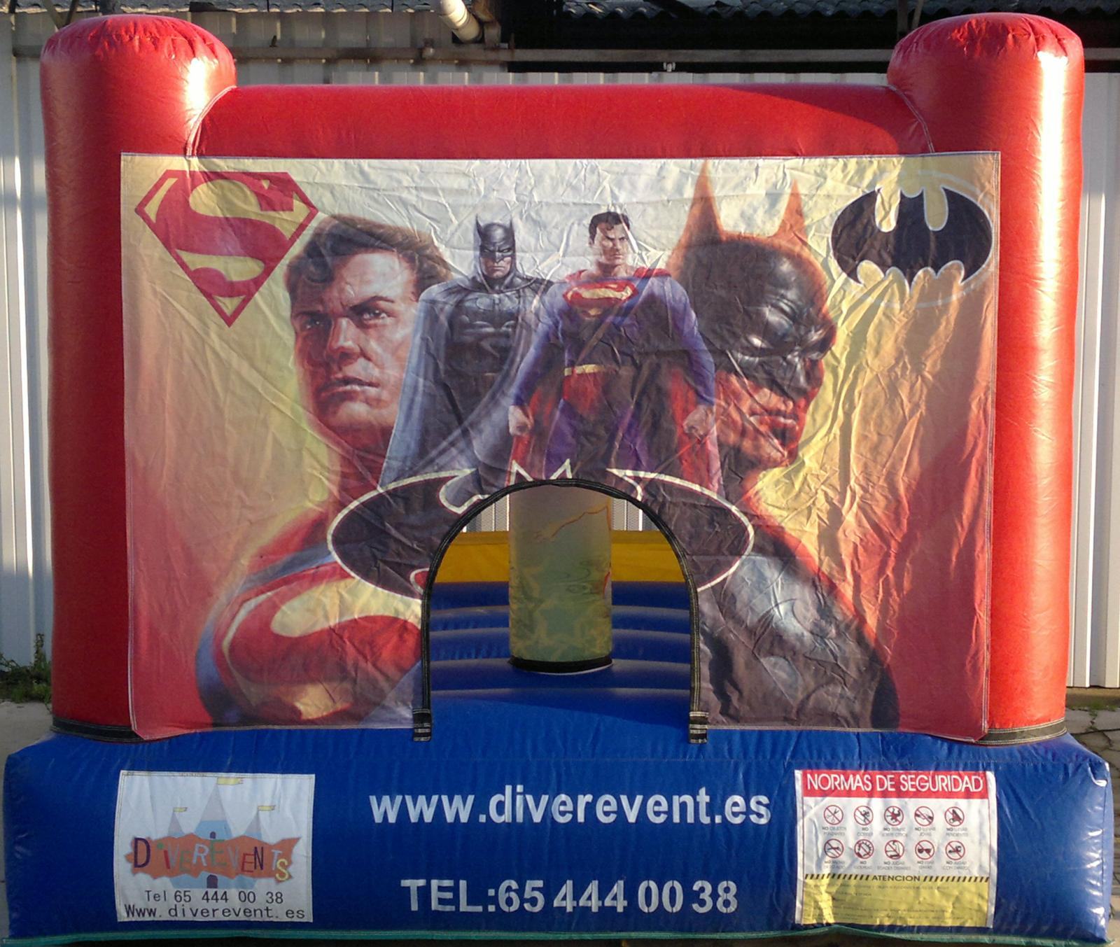 Super Heroes 3x3 metros