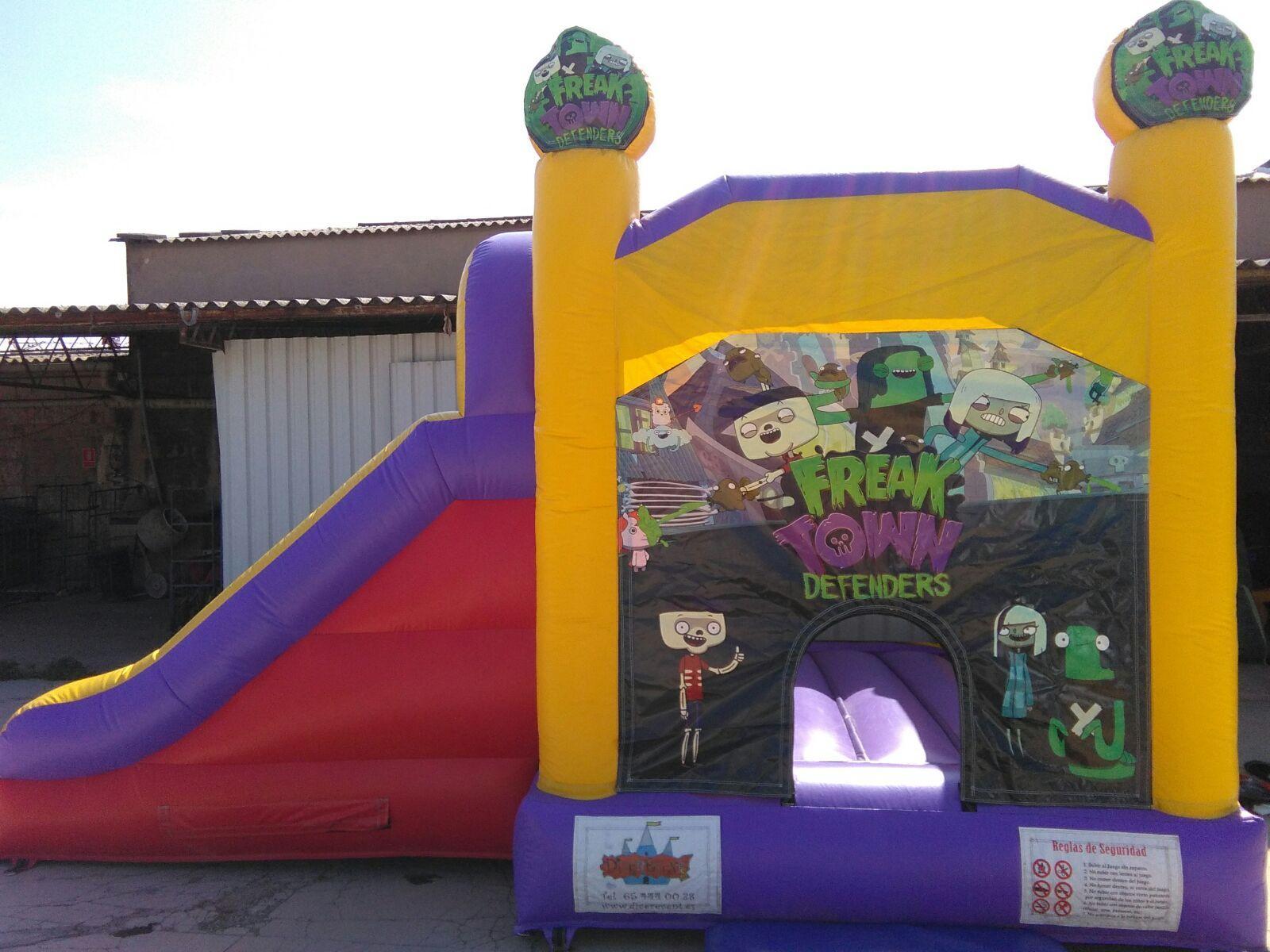 Castillo 7*4'5 Freak Town