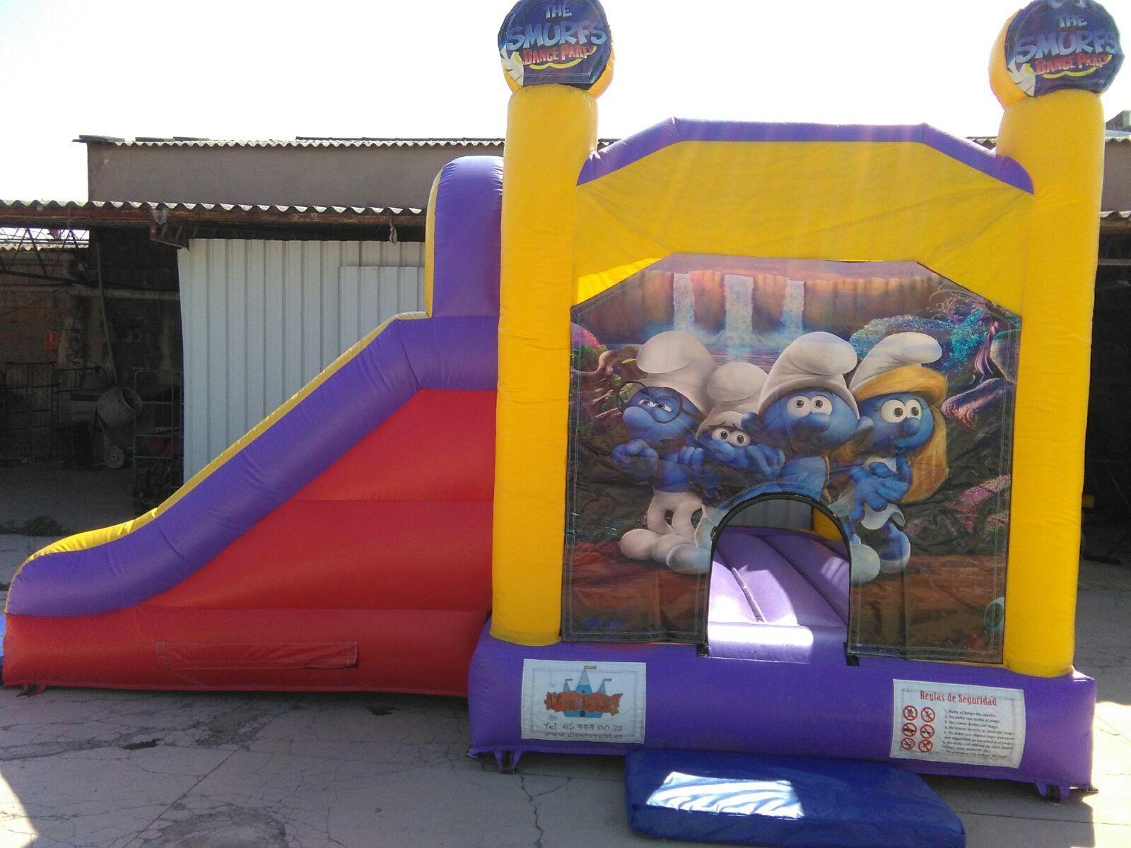 Castillo 7*4'5 Pitufos