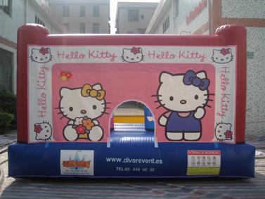 Hello Kitty 4x3 metros