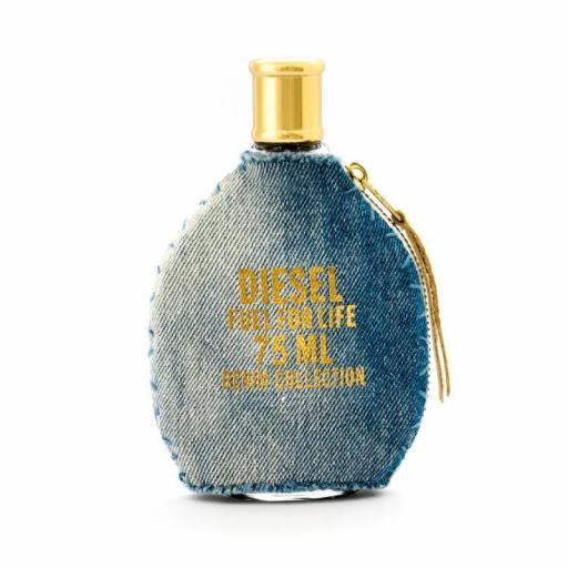 DIESEL FUEL FOR LIFE DENIM POUR FEMME EDT 75ML TESTER