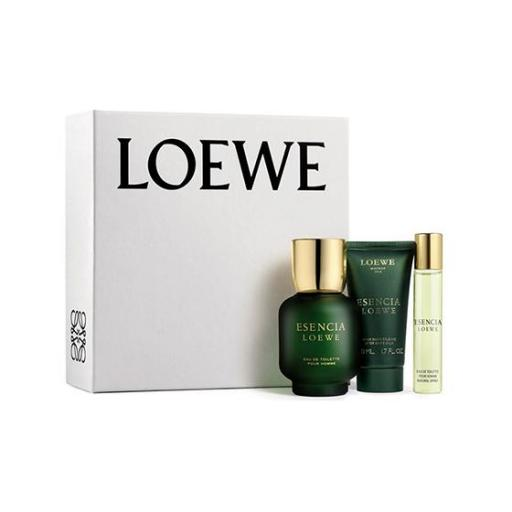 LOEWE ESENCIA EDT 100ML + 20ML+ AFTER SHAVE BALSAMO 50ML COFRE [0]