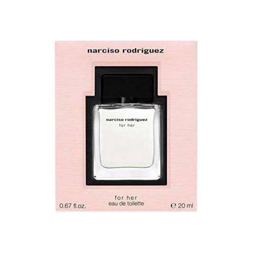 NARCISO RODRIGUEZ FOR HER EDT 20ML