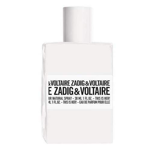 ZADIG & VOLTAIRE THIS IS HER EDP 100ML TESTER