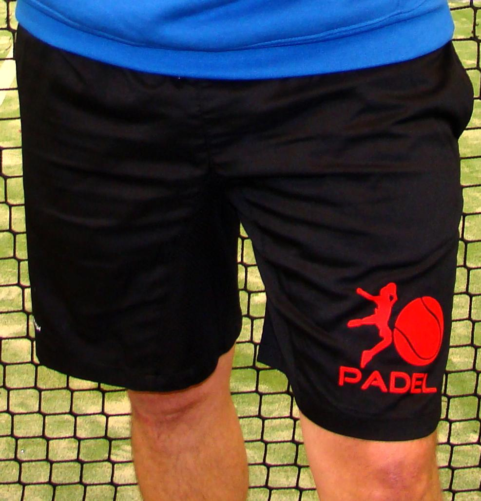 PANTALON CORTO Padel o Tennis PERSONALIZABLES NO+CRASH