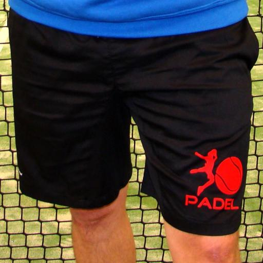 PANTALON CORTO Padel o Tennis PERSONALIZABLES NO+CRASH [0]