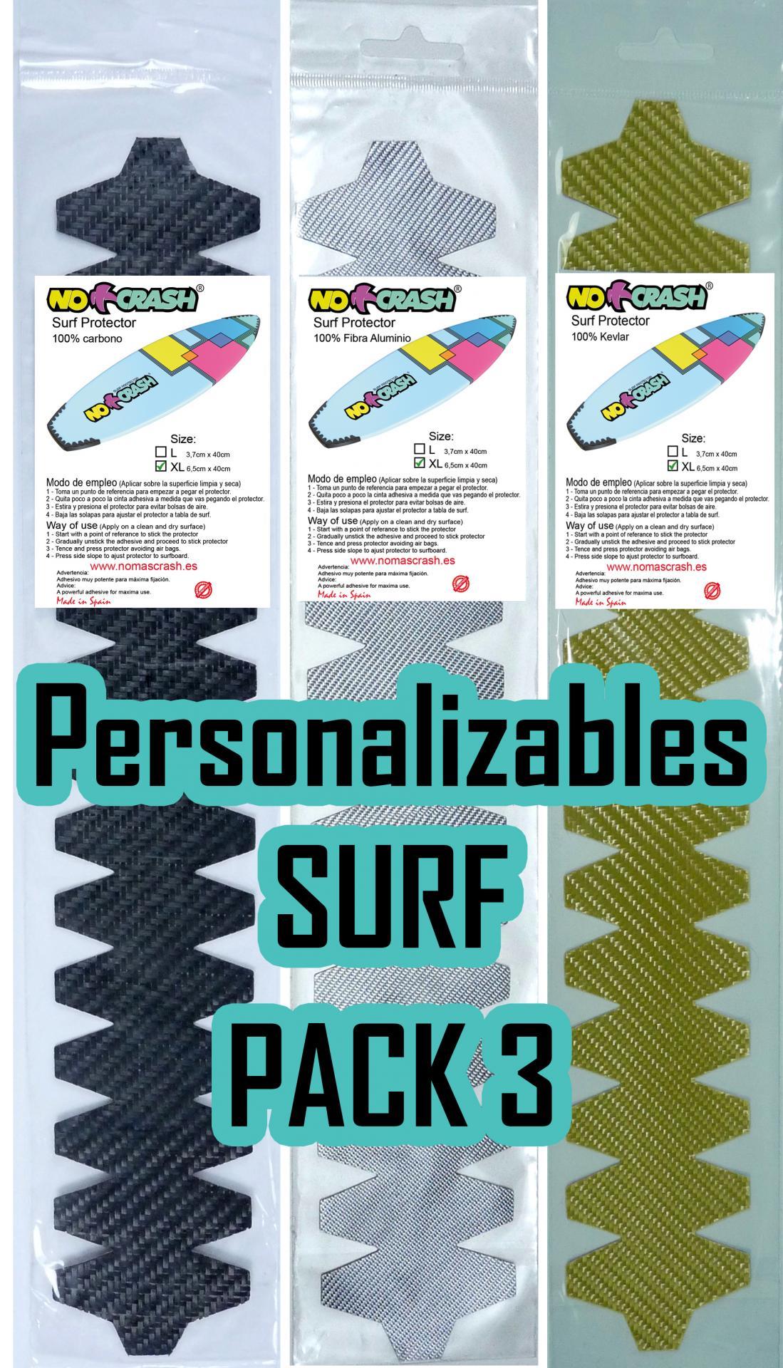 PERSONALIZADO SURF COMBINADO - (Oferta disponible Pack 3 Ud)