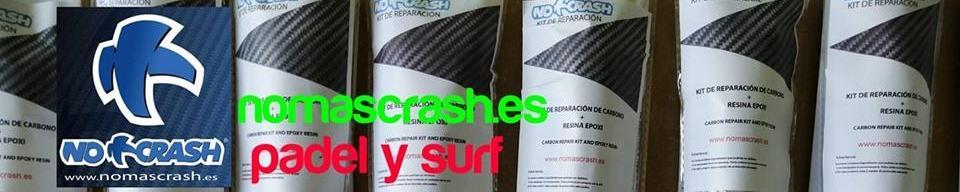 kit de No+Crash para reparar palas pádel tablas embarcaciones velas bicicleta