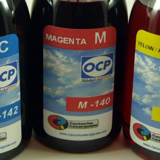 26XL / TINTA  marca OCP PARA RECARGA DE CARTUCHOS y sistemas CISS tipo  EPSON serie 26 y 26XL OSO POLAR. [2]