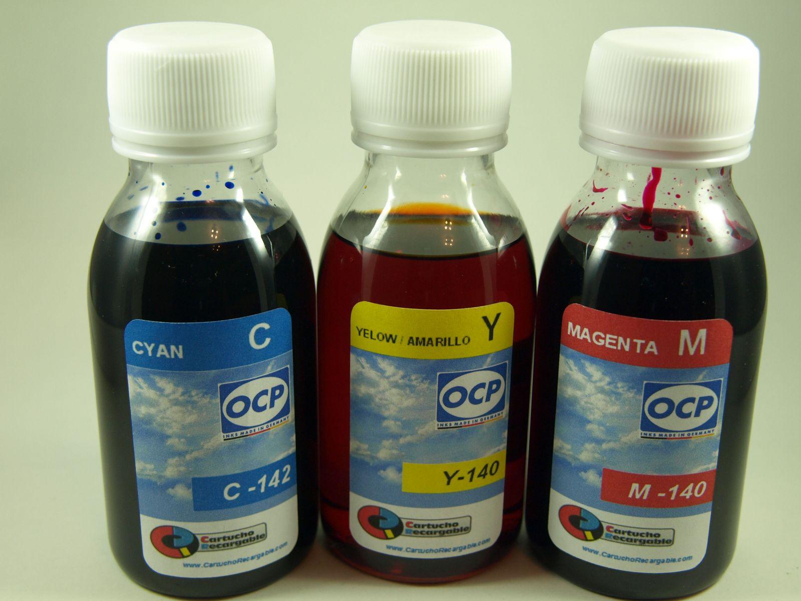 T079 y T080 / TINTA OCP PARA RECARGA DE CARTUCHOS y sistemas CISS tipo EPSON T079 BUHO y T080 COLIBRI