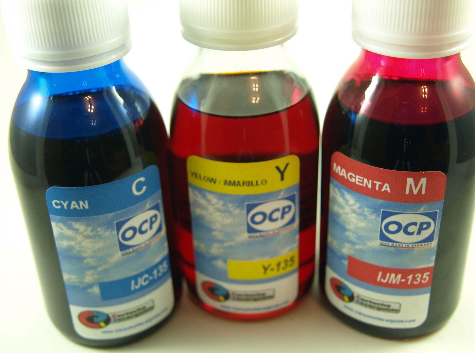 CANON PGI550 PGI570 Y PGI580 / TINTA OCP PARA RECARGA DE CARTUCHOS y CISS CANON Serie PGI550-570 Y 580