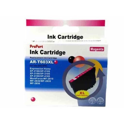 603 Juego de Cartuchos COMPATIBLES para EPSON mod. 603XL kit con 2 Negro + 3 Color [1]