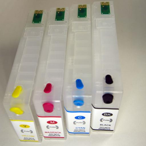 Cartuchos recargables compatible Serie T79 de Epson [2]