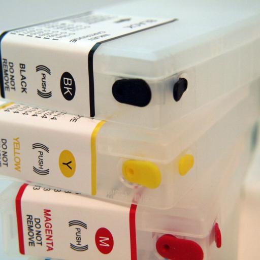 Cartuchos recargables compatible Serie T79 de Epson