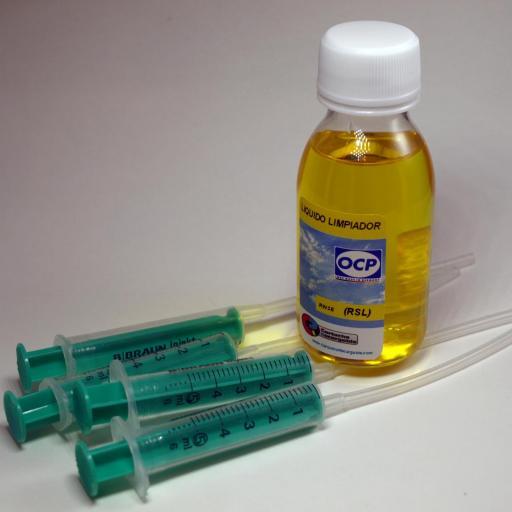 Líquido limpiador inyectores Rinse (RSL) para Canon-HP [3]