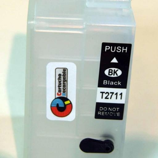 Juego de cartuchos recargables  con chip ARC especial para serie WF-7210, 7710, 7715 y 7720 [3]