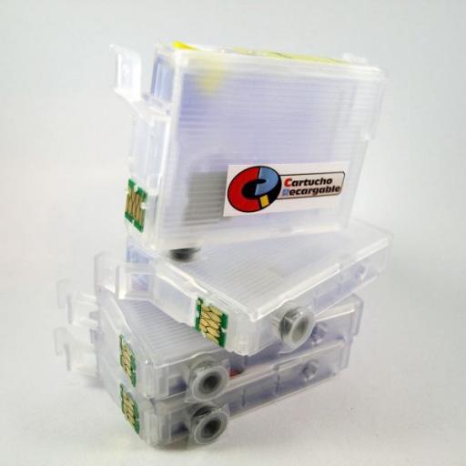 T29XL CARTUCHOS RECARGABLES con Chip ARC  [0]