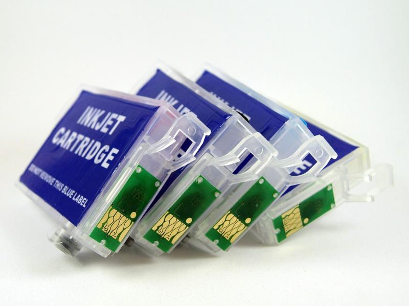 T34XL Juego de cartuchos recargables  con chip ARC especial para Epson T34XL