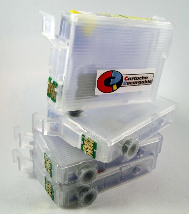 18XL / JUEGO DE CARTUCHOS RECARGABLES  con Chip ARC compatible con Serie 18 y 18XL.