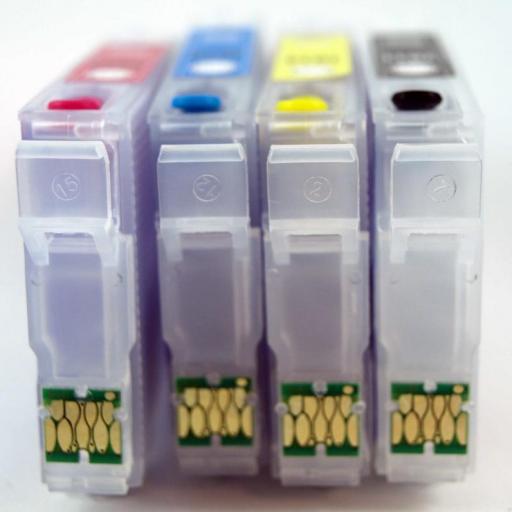 18XL / JUEGO DE CARTUCHOS RECARGABLES  con Chip ARC compatible con Serie 18 y 18XL. [3]