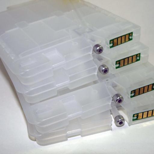 Cartuchos recargables chip ARC para GC-21 RICOH [1]