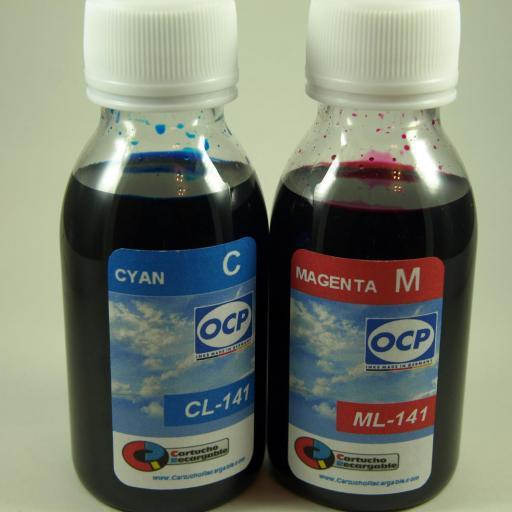 378XL / TINTA marca OCP PARA RECARGA DE CARTUCHOS y sistemas CISS tipo epson serie 378XL (NO-OEM) [2]