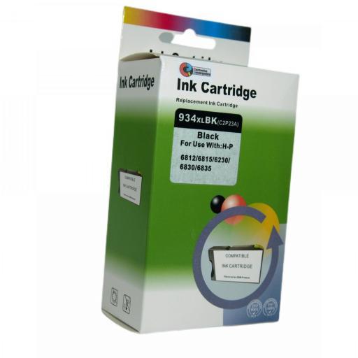 934 - 935 Juego de Cartuchos COMPATIBLES para HP Mod. 934 - 935XL 2 NEGRO+3 COLOR [1]