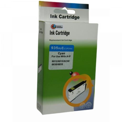 934 - 935 Juego de Cartuchos COMPATIBLES para HP Mod. 934 - 935XL 2 NEGRO+3 COLOR [2]