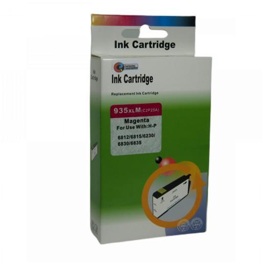 934 - 935 Juego de Cartuchos COMPATIBLES para HP Mod. 934 - 935XL 2 NEGRO+3 COLOR [3]