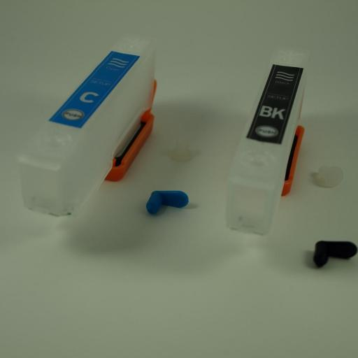 24XL / KIT DE RECARGA TINTA OCP + CARTUCHOS con Chip ARC compatible con la Serie 24 y 24XL ELEFANTE (NONOEM) [1]