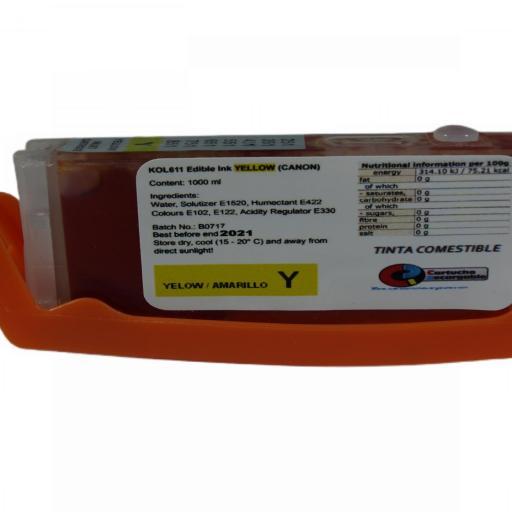 Comestible 570-571 Cartuchos con Tinta Comestible para CANON 570-571 [2]