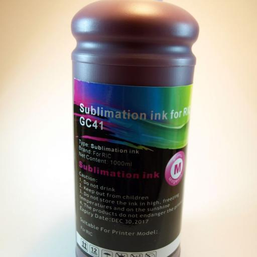 Tinta SUBLIMACION  1Lt. M para RICOH GC21-31-41-SG3100