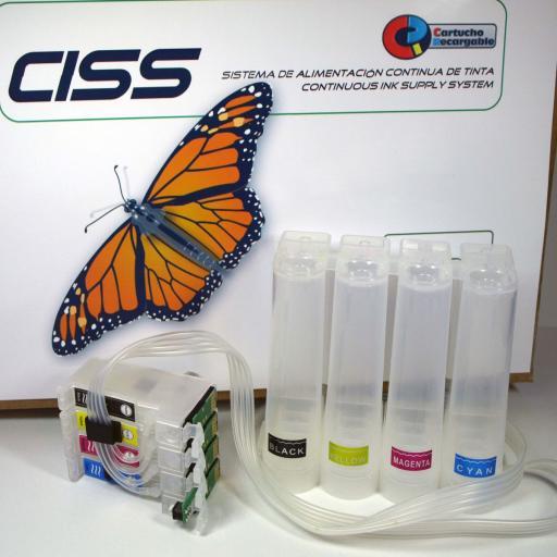 CISS Auto-reset COMPATIBLE EPSON serie 18XL [0]