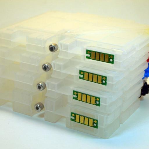GC41 Cartuchos recargables con  chip para serie GC-41 RICOH [3]