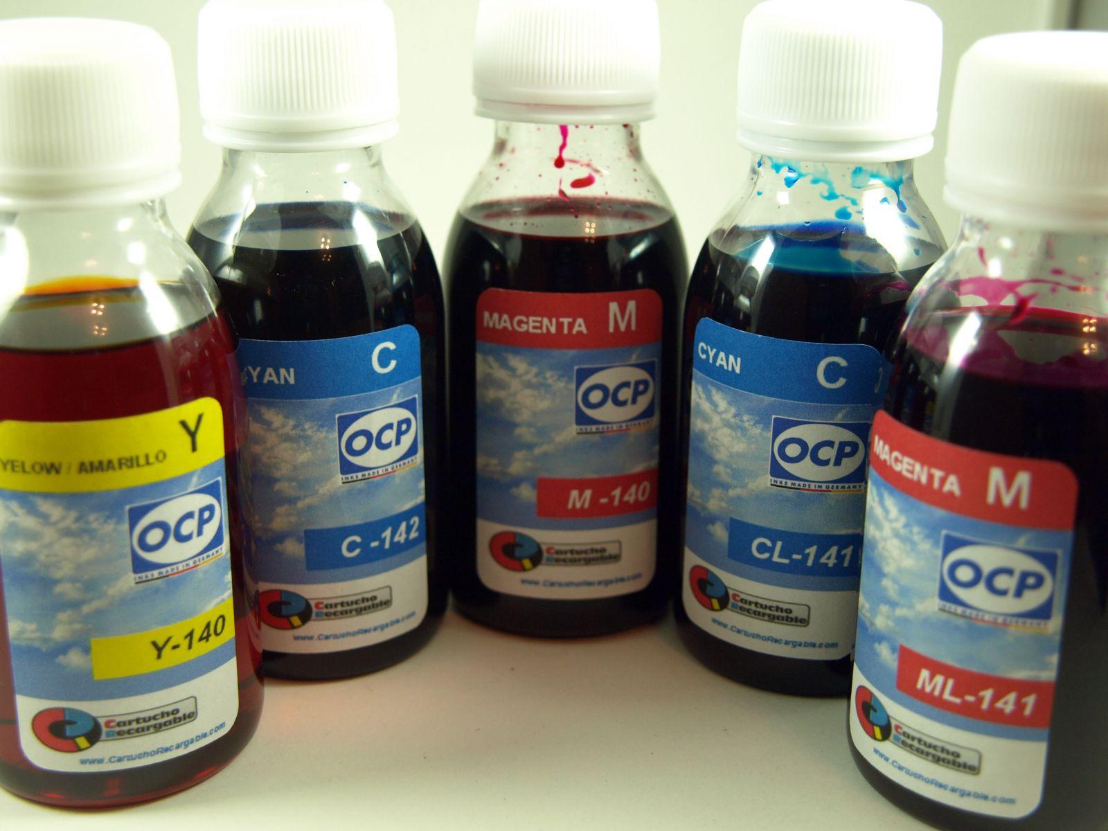 24XL / TINTA marca OCP PARA RECARGA DE CARTUCHOS y sistemas CISS tipo epson serie 24 y 24XL ELEFANTE (NONOEM)