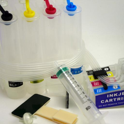 Sistema de tinta CISS compatibles con Epson modelos WF-7720 WF-7710  WF-7715 [1]