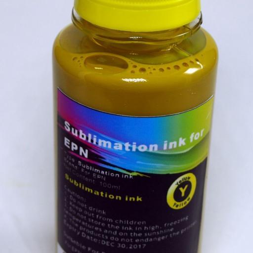 Tintas SUBLIMACION  4 X 100ML compatible EPSON  [3]