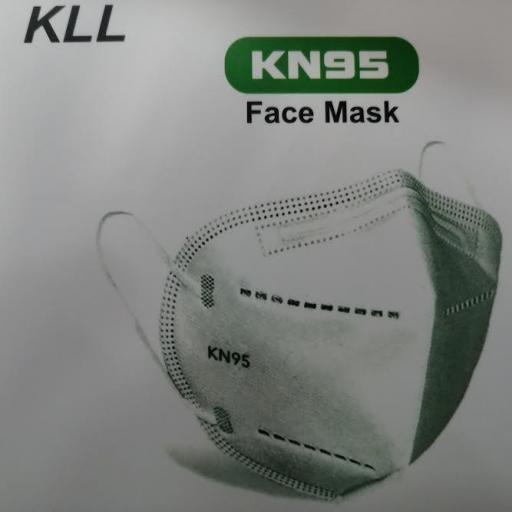 MASCARILLA KN95  PACK 5 UNDS