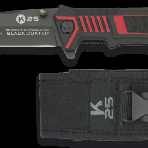 navaja K25 black FOS hoja: 8.6 cm