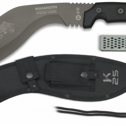 machete K25 Mammoth. TC. 23cm