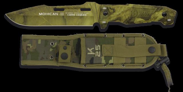 cuchillo K25. MOHICAN III.camo c. 15.8