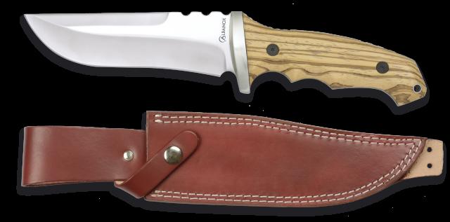 cuchillo albainox madera. hoja:14.3