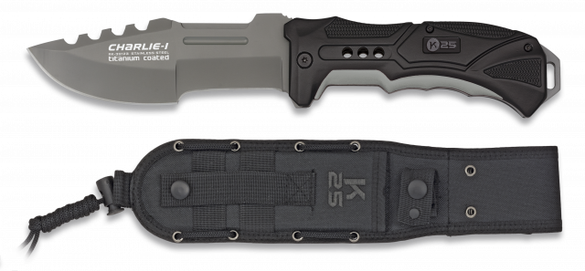 cuchillo K25 CHARLIE I. Hoja: 13