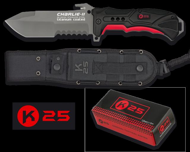 cuchillo K25 CHARLIE II. Hoja: 13