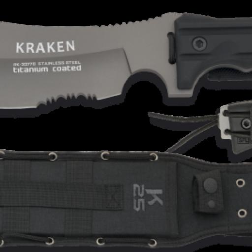 cuchillo K25 SFL. titanium. hoja 20 cm
