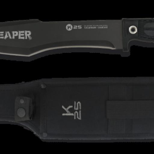 cuchillo K25. Reaper. Hoja: 25 cm