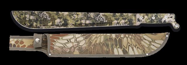 machete albainox green Phyton camo. 40